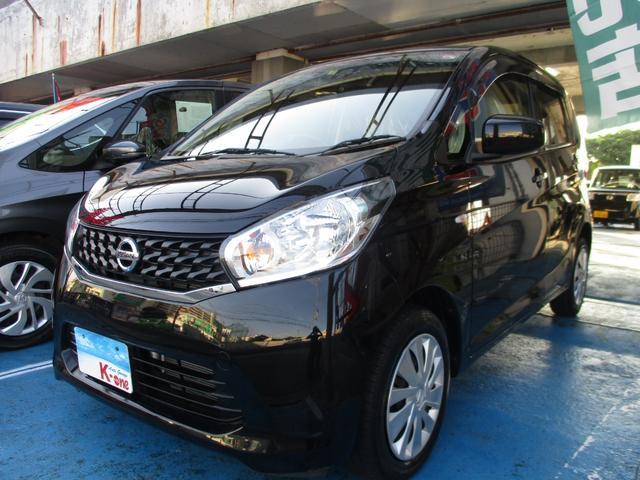 沖縄の中古車 日産 デイズ 車両価格 49万円 リ済込 2015(平成27)年 3.6万km ブラック