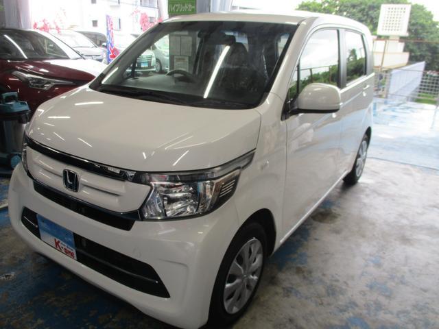 沖縄の中古車 ホンダ N-WGN 車両価格 69万円 リ済込 2015(平成27)年 3.5万km パールホワイト