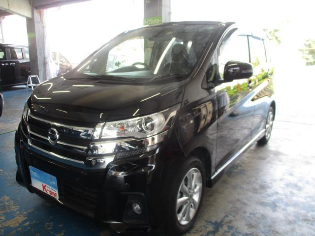 沖縄の中古車 日産 デイズ 車両価格 103万円 リ済込 2019(平成31)年 1.1万km ブラックP