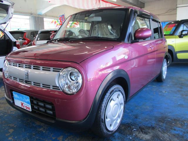 沖縄県宜野湾市の中古車ならアルトラパン S 全方位モニター・レーダーブレーキサポート
