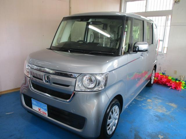 沖縄の中古車 ホンダ N-BOX 車両価格 109万円 リ済込 2019(令和1)年 4.1万km シルバー