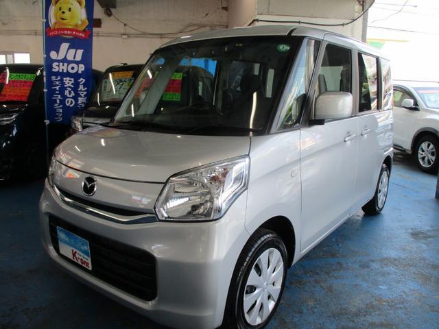 沖縄県の中古車ならフレアワゴン XS パワースライドドア・デュアルカメラブレーキサポート
