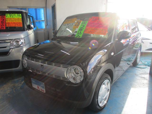 沖縄県宜野湾市の中古車ならアルトラパン S レーダーブレーキサポート