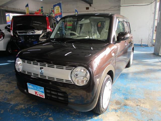 沖縄県の中古車ならアルトラパン L レーダーブレーキサポート