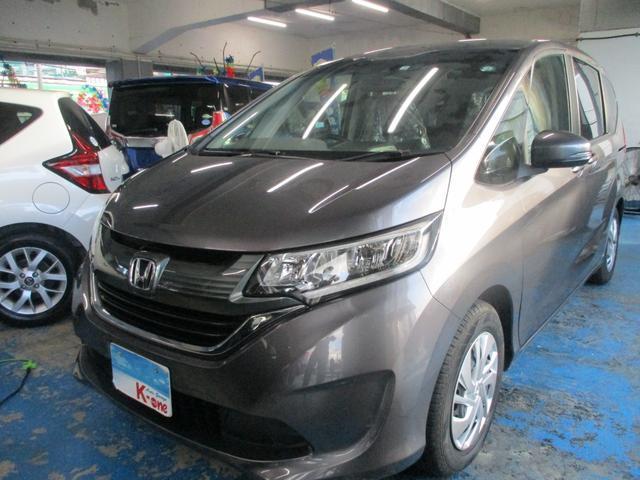 沖縄の中古車 ホンダ フリード 車両価格 149万円 リ済込 2017(平成29)年 6.0万km グレーM