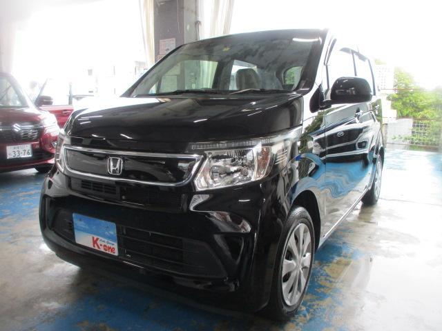 沖縄県の中古車ならN-WGN G・Lパッケージ 安心装備シティブレーキアクティブシステム搭載・純正ナビ・バックカメラ