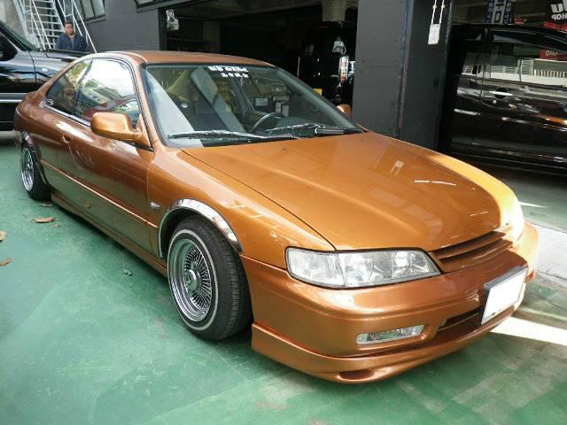 沖縄の中古車 アメリカホンダ アコード 車両価格 ASK リ済込 1994年 15.1万km オレンジM