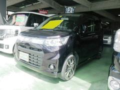 沖縄の中古車 スズキ ワゴンRスティングレー 車両価格 85万円 リ済込 平成25年 2.5万K ダークパープル