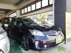 沖縄の中古車 トヨタ プリウス 車両価格 119万円 リ済込 平成24年 10.1万K ダークパープル