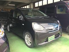 沖縄の中古車 ダイハツ ミライース 車両価格 35万円 リ済込 平成23年 6.9万K ブラック