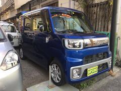 沖縄の中古車 ダイハツ ウェイク 車両価格 99万円 リ済込 平成27年 3.4万K ブルー