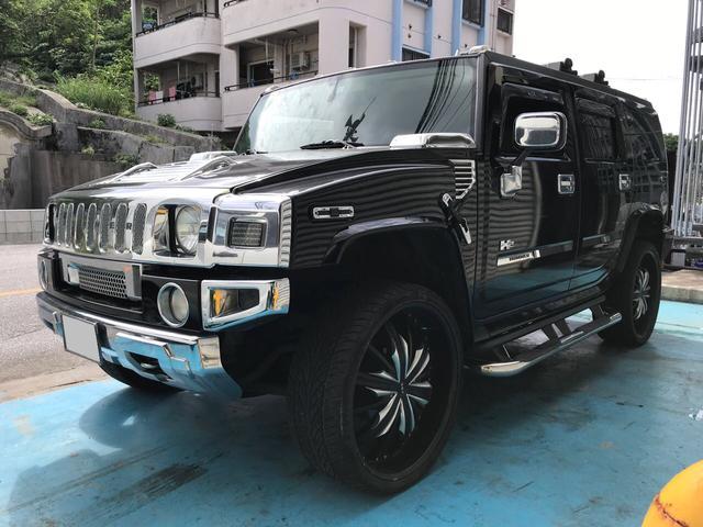 沖縄の中古車 ハマー ハマー H2 車両価格 419万円 リ済込 2012年 6.0万km ブラック