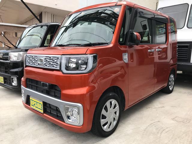 沖縄の中古車 ダイハツ ウェイク 車両価格 94万円 リ済込 平成26年 2.7万km オレンジ