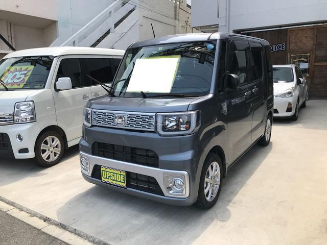 沖縄の中古車 ダイハツ ウェイク 車両価格 104万円 リ済込 平成27年 3.5万km ガンM
