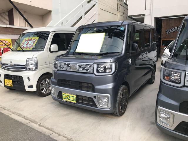 沖縄の中古車 ダイハツ ウェイク 車両価格 104万円 リ済込 平成27年 3.1万km ガンM