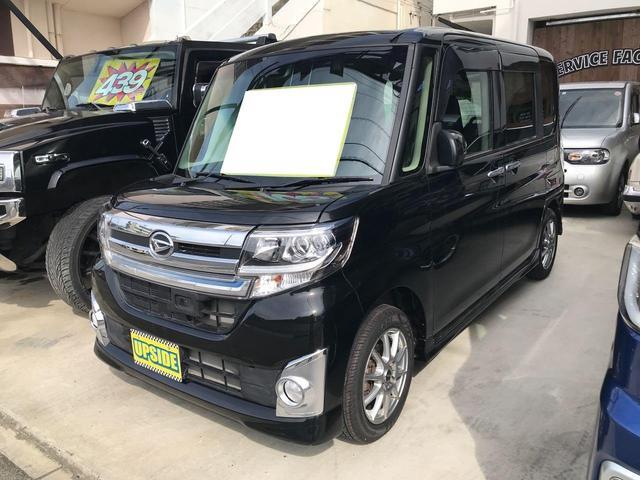沖縄の中古車 ダイハツ タント 車両価格 95万円 リ済込 2015(平成27)年 2.9万km ブラック