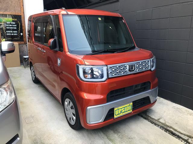 沖縄県宜野湾市の中古車ならウェイク D SA TV ナビ バックカメラ 被害軽減ブレーキ ETC