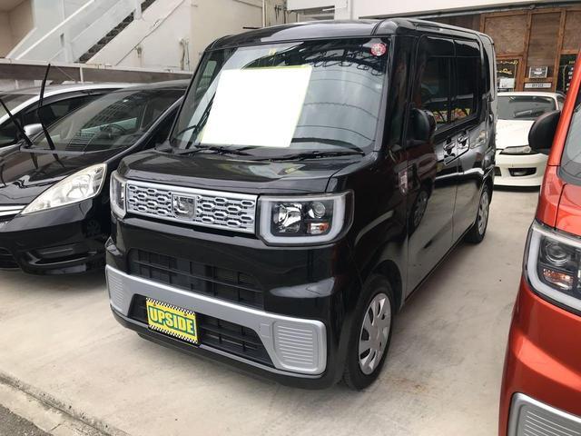 沖縄の中古車 ダイハツ ウェイク 車両価格 79万円 リ済込 2015(平成27)年 6.6万km ブラック