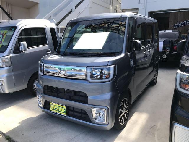 沖縄県宜野湾市の中古車ならウェイク GターボSAII TV ナビ 両側パワースライドドア HID