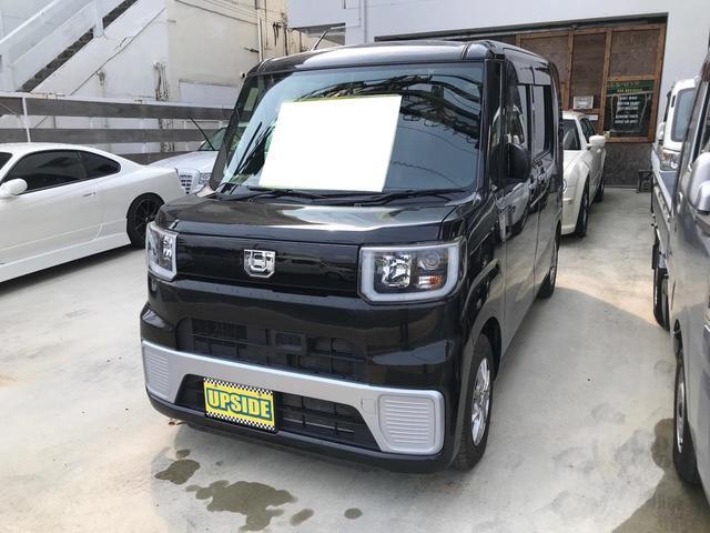 沖縄の中古車 ダイハツ ウェイク 車両価格 79万円 リ済込 2015(平成27)年 6.4万km ブラック