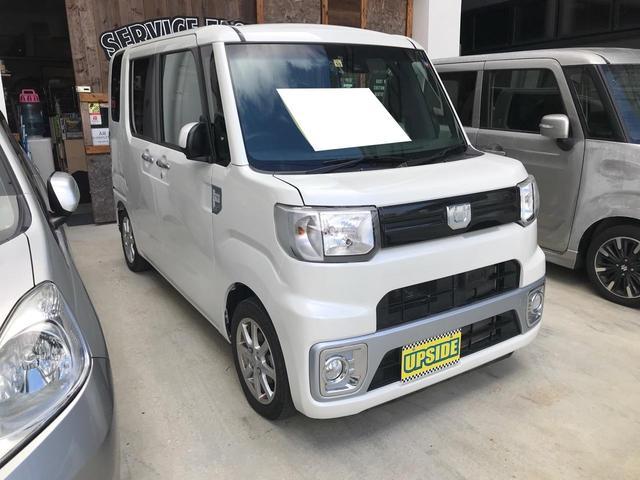 沖縄の中古車 ダイハツ ウェイク 車両価格 85万円 リ済込 2016(平成28)年 2.6万km パールホワイト