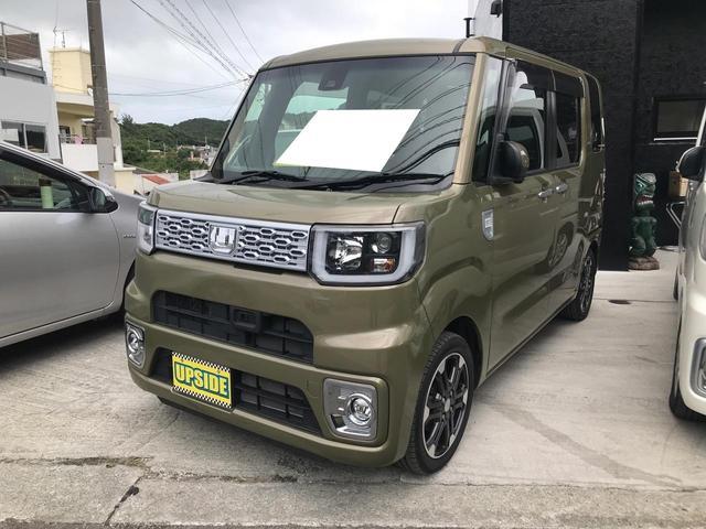 沖縄の中古車 ダイハツ ウェイク 車両価格 79万円 リ済込 2016(平成28)年 7.4万km カーキ