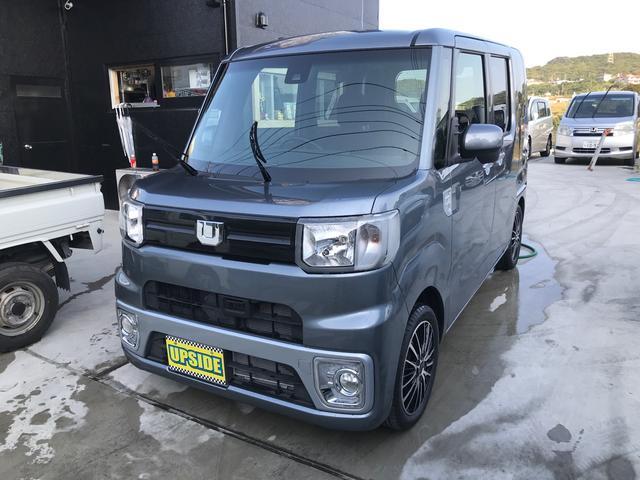 沖縄の中古車 ダイハツ ウェイク 車両価格 99万円 リ済込 2018(平成30)年 0.6万km ガンM