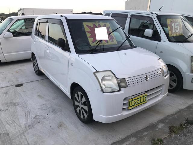 中頭郡中城村 UP SIDE スズキ アルト G 現状販売車輛 ホワイト 7.5万km 2005(平成17)年