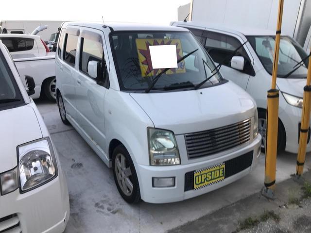 沖縄の中古車 スズキ ワゴンR 車両価格 15万円 リ済別 2005(平成17)年 9.5万km ホワイト