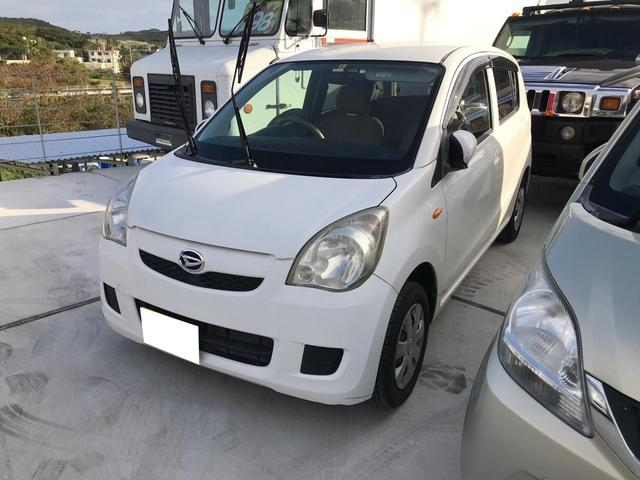 沖縄の中古車 ダイハツ ミラ 車両価格 15万円 リ済込 2010(平成22)年 7.9万km ホワイト