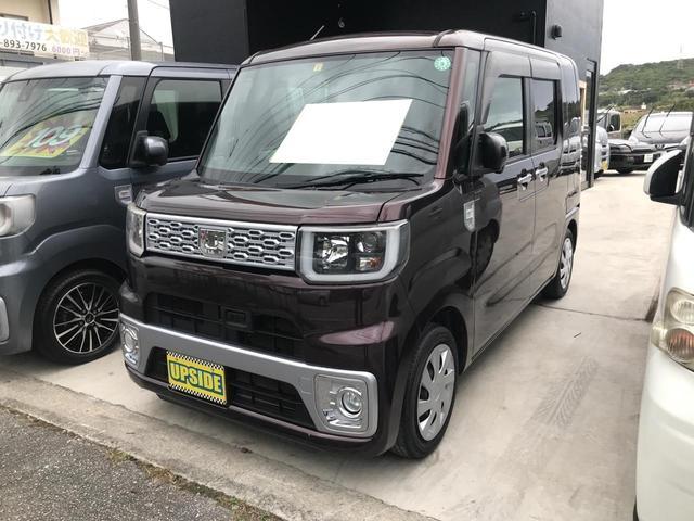 沖縄の中古車 ダイハツ ウェイク 車両価格 69万円 リ済込 2015(平成27)年 9.0万km ブラウン