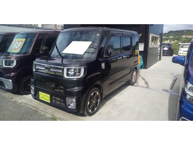 沖縄の中古車 ダイハツ ウェイク 車両価格 104万円 リ済込 2017(平成29)年 4.0万km ブラック