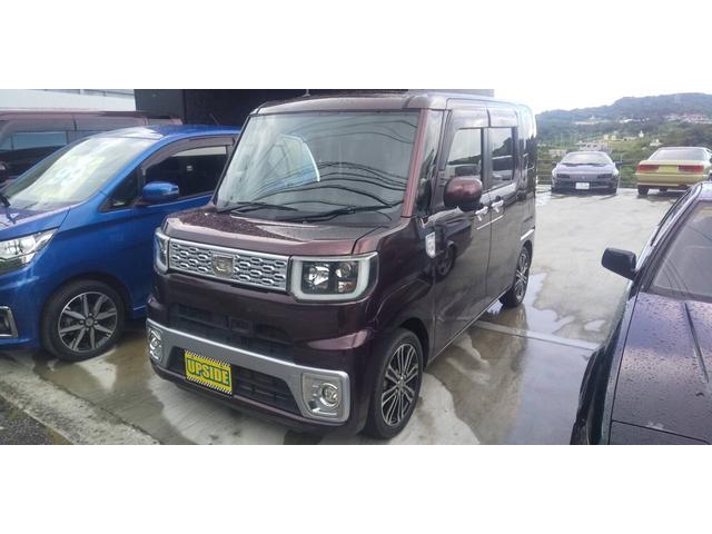 沖縄の中古車 ダイハツ ウェイク 車両価格 85万円 リ済込 2015(平成27)年 7.7万km ブラウン
