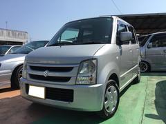 沖縄の中古車 スズキ ワゴンR 車両価格 18万円 リ済別 平成18年 12.6万K シルキーシルバーメタリック