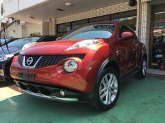 沖縄の中古車 日産 ジューク 車両価格 89万円 リ済別 平成22年 8.9万K ラディアントレッドPM