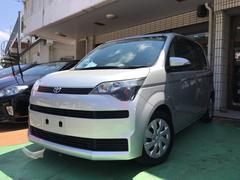 沖縄の中古車 トヨタ スペイド 車両価格 59万円 リ済別 平成25年 9.4万K シルバーメタリック