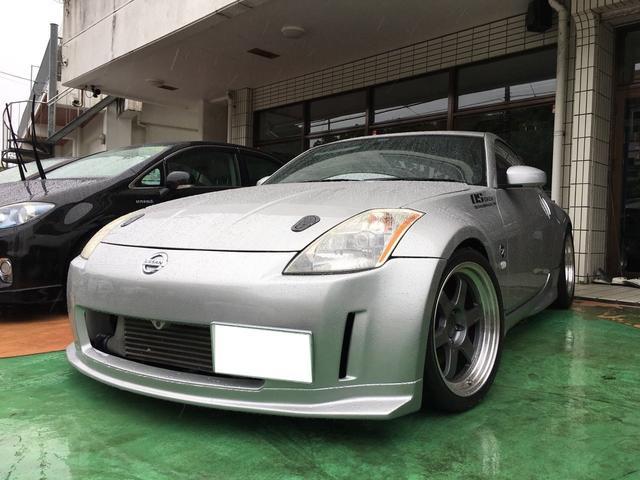 沖縄県の中古車ならフェアレディZ Z33改 前置きインタークーラー ターボ