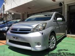 沖縄の中古車 トヨタ アイシス 車両価格 39万円 リ済別 平成20年 9.4万K シルバーメタリック
