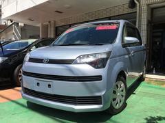 沖縄の中古車 トヨタ スペイド 車両価格 65万円 リ済別 平成25年 6.4万K ライトブルーマイカメタリック