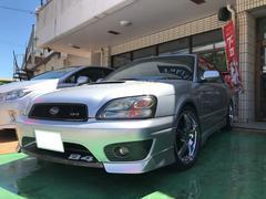 沖縄の中古車 スバル レガシィB4 車両価格 47万円 リ済別 平成13年 12.9万K プレミアムシルバーメタリック