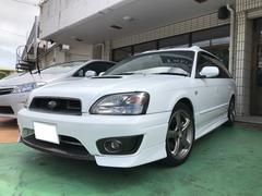 沖縄の中古車 スバル レガシィツーリングワゴン 車両価格 39万円 リ済別 平成15年 16.4万K サテンホワイト