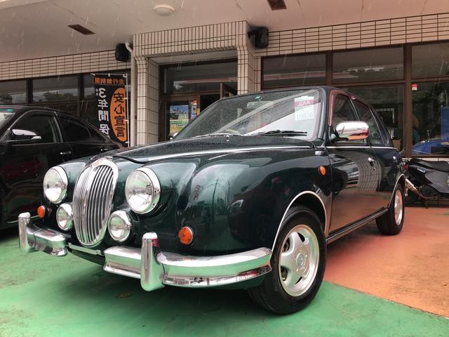 沖縄の中古車 ミツオカ ビュート 車両価格 39万円 リ済別 平成14年 9.2万km グリーンM