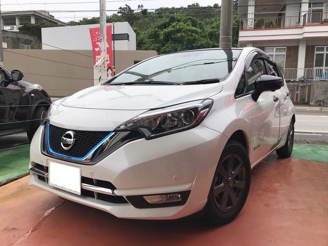 沖縄県の中古車ならノート e-パワー メダリスト ブラックアロー