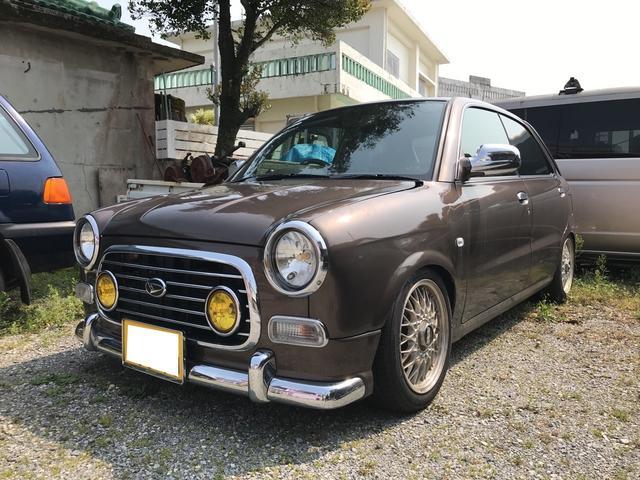 沖縄の中古車 ダイハツ オプティ 車両価格 29万円 リ済別 1998(平成10)年 走不明 ブラウンM