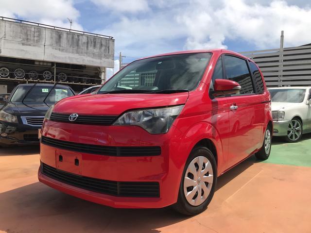 沖縄の中古車 トヨタ スペイド 車両価格 49万円 リ済別 2012(平成24)年 9.2万km スーパーレッドV