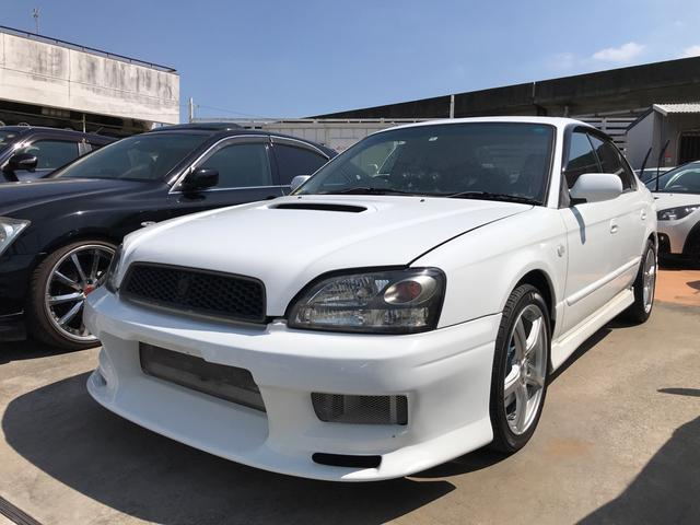 沖縄の中古車 スバル レガシィB4 車両価格 57万円 リ済別 2003(平成15)年 11.7万km サテンホワイト