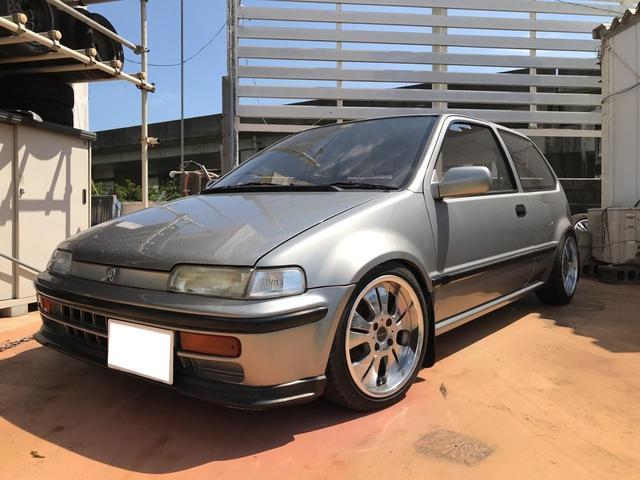 沖縄の中古車 ホンダ シティ 車両価格 49万円 リ済別 1991(平成3)年 4.9万km シルバーM