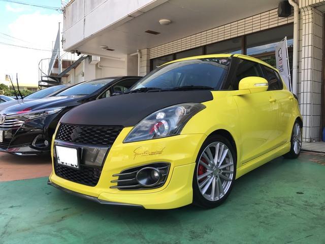 沖縄県の中古車ならスイフトスポーツ 社外フルLEDテール マフラー TEIN車高調