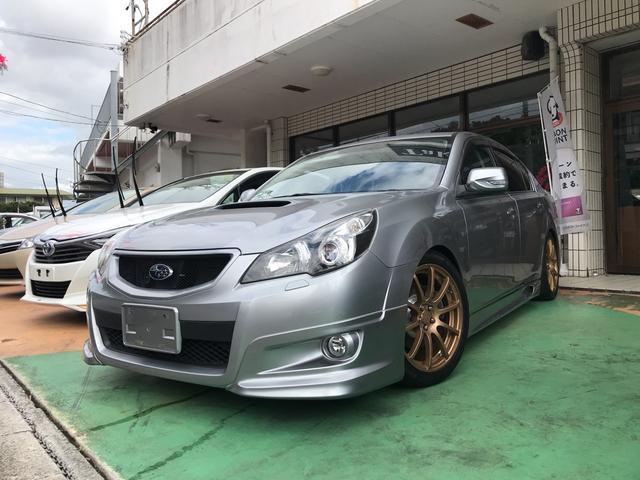 沖縄県の中古車ならレガシィB4 2.5GT Sパッケージ 6MT フルエアロ