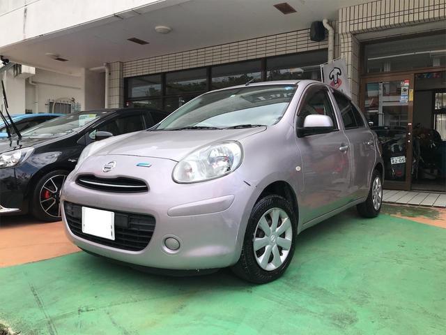 沖縄の中古車 日産 マーチ 車両価格 19万円 リ済別 2010(平成22)年 9.8万km サクラPM